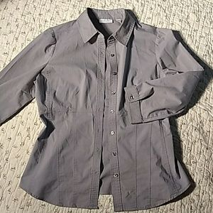 New York & company, button down shirt. Sz medium